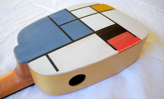 <strong>Piet</strong> – Tribute to Mondrian – Acoustic, concert ukulele