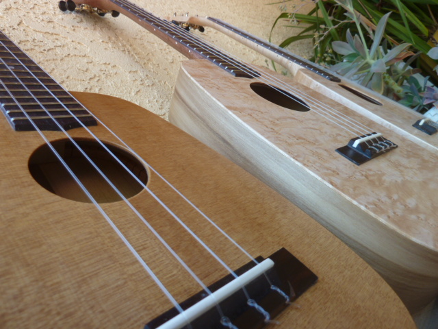 Three new ukuleles make their debuts!