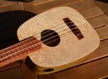 <strong>Anacapa</strong> – Acoustic/Electric Keystone Ideale Tenor Ukulele in Birdseye Maple & Poplar