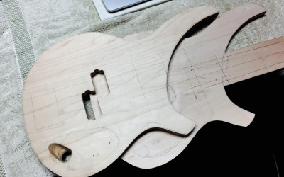 Routing the iUbass body